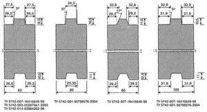 Размеры гипсовых пазогребневых блоков по ГОСТу и ТУ