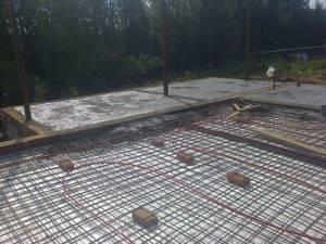 Прогрев бетона в зимнее время