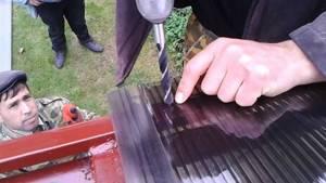 Как осуществляется крепление поликарбоната к металлическому каркасу