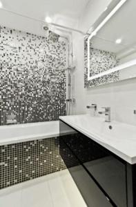 Фото № 1: 11 лучших отделочных материалов для ванной комнаты — 2019