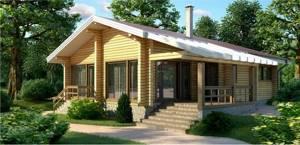 купить дом из профилированного бруса