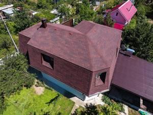 мягкая крыша на дом