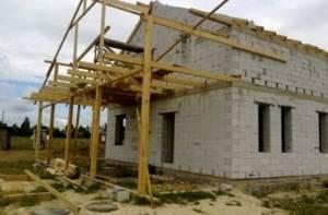 как пристроить балкон к дому