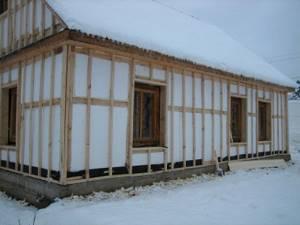 чем утеплить каркасный дом