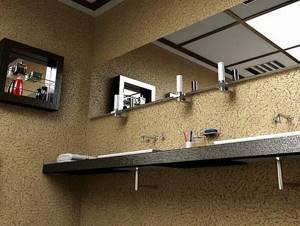 Фото 8. Фактурная штукатурка «Короед» в ванной комнате.jpg