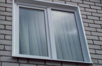 наружные откосы на пластиковые окна своими руками