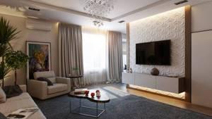 Настенный монтаж – самый популярный способ установки современных ТВ-устройств