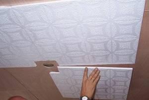 Благодаря потолочной плитке можно существенно улучшить эстетические качества потолка
