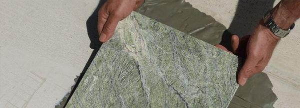 Технология облицовки стены мрамором