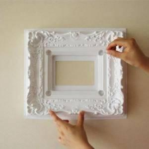 Фото № 9: Как правильно использовать молдинги на стенах и где их купить: 10 советов
