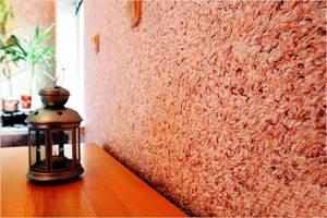 Фото № 4: Что такое флоковое покрытие стен: особенность декоративной штукатурки