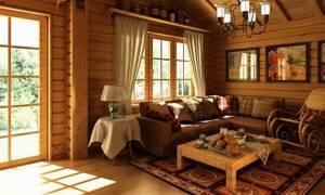внутренняя отделка деревянного дома блок хаусом