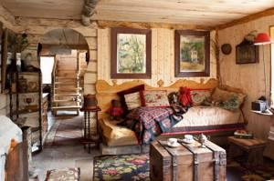 внутренняя отделка дома блок хаусом идеи