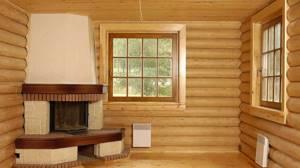 Блок хаус во внутренней отделке деревянного дома