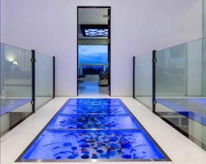 стеклянные панели для стен