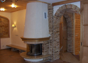 арка из камня