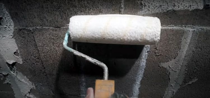 Как сделать кирпич из декоративной шпаклевки на стене