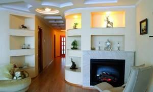 отделка углов в дизайне квартиры фото интерьера