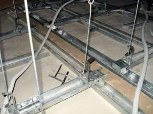 Толщина гкл для потолка
