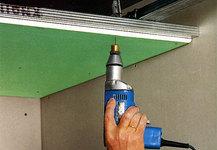 Толщина гипсокартона для потолка