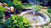 Этапы строительство фонтана на даче