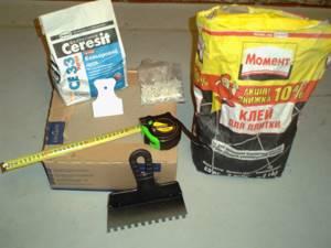 инструмент для кладки плитки
