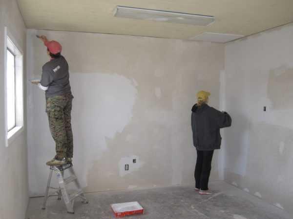 Подготовка стены под укладку кафеля