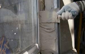 отделка откосов пластиковых окон